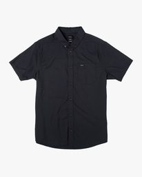 0 That'll Do Stretch Button-Up Shirt Black M501VRTD RVCA