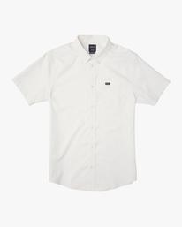 0 That'll Do Stretch Button-Up Shirt White M501VRTD RVCA