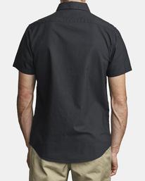 2 That'll Do Stretch Button-Up Shirt Black M501VRTD RVCA