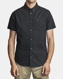 1 That'll Do Stretch Button-Up Shirt Black M501VRTD RVCA