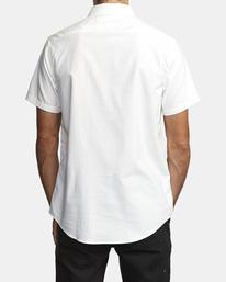 2 That'll Do Stretch Button-Up Shirt White M501VRTD RVCA