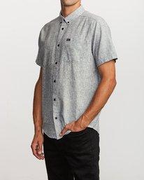 4 That'll Do Textured Button-Up Shirt  M501VRTT RVCA