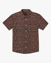 0 Costello Floral Button-Up Shirt Multicolor M501WRCO RVCA