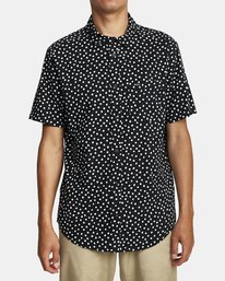 0 Costello Floral Button-Up Shirt Black M501WRCO RVCA