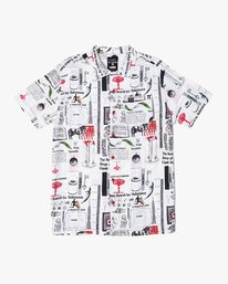 0 SPUN BUTTON-UP SHIRT White M5021RFA RVCA