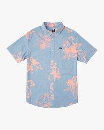 0 Vaughn Linear Button-Up Shirt Blue M502TRVL RVCA