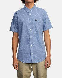 0 That'll Do Short Sleeve Shirt Grey M502VRTD RVCA