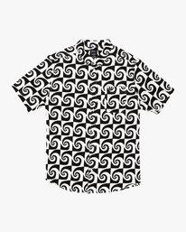 0 Whirlpool Button-Up Shirt White M503VRWP RVCA