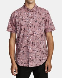 0 OLIVER SHORT SLEEVE SHIRT Purple M5042ROL RVCA