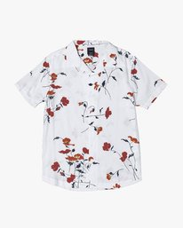 0 LAZARUS FLORAL BUTTON-UP SHIRT White M5061RLF RVCA