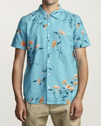 0 LAZARUS FLORAL BUTTON-UP SHIRT Brown M5061RLF RVCA