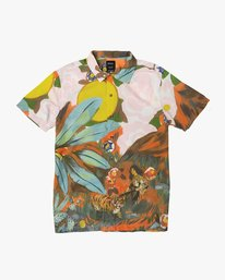 0 Grisancich Button-Up Shirt Multicolor M507TRMG RVCA