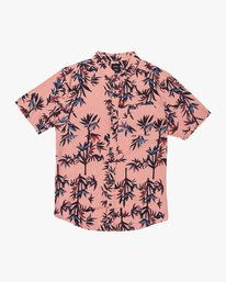 0 Bamboozled Button-Up Shirt Pink M507VRBB RVCA