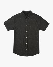 0 That'll Do Print Short Sleeve Shirt Black M508TRTP RVCA