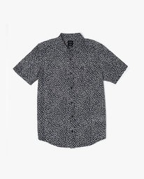 0 PRESIDIO BUTTON-UP SHIRT Black M5091RPR RVCA