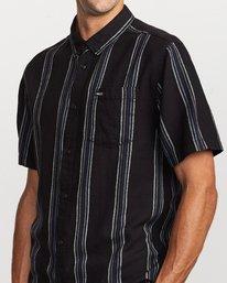 3 Split Stripe Button-Up Shirt  M509VRSS RVCA