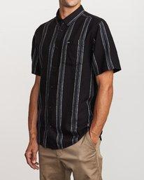 4 Split Stripe Button-Up Shirt  M509VRSS RVCA