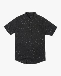 0 VA Little Buds Button-Up Shirt Black M514VRVL RVCA