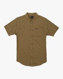 0 VA Little Buds Button-Up Shirt Green M514VRVL RVCA