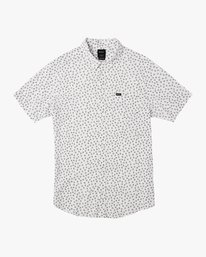 0 Ficus Floral Button-Up Shirt White M520TRBF RVCA