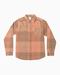 0 Good Stuff Neutral Flannel  M525QRGS RVCA