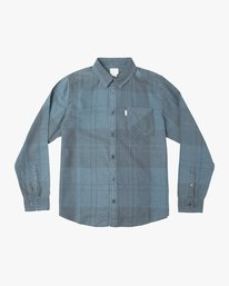 0 Good Stuff Neutral Flannel Blue M525QRGS RVCA