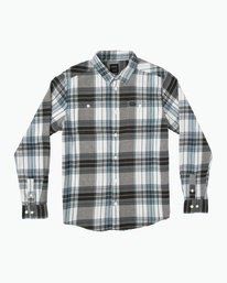 0 Ludlow Plaid Flannel White M551QRLU RVCA