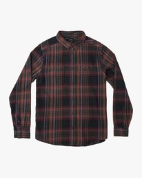 0 Ludlow Plaid Flannel Black M551QRLU RVCA