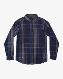 0 Ludlow Plaid Flannel Blue M551QRLU RVCA