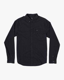 0 That'll Do Stretch Long Sleeve Shirt Black M551VRTD RVCA