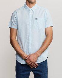 0 That'll Do Hi Grade II Button-Up Shirt Blue M552URTH RVCA