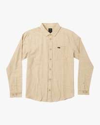 0 Black Sand Flannel Yellow M552VRBS RVCA