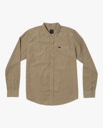 0 Freeman Corduroy Long Sleeve Shirt  M552VRFC RVCA