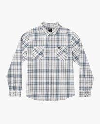 0 Watt Plaid Long Sleeve Flannel Multicolor M553TRWF RVCA