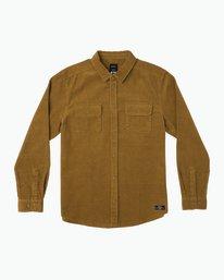 0 Campbell Corduroy Button-Up Shirt  M554SRCA RVCA