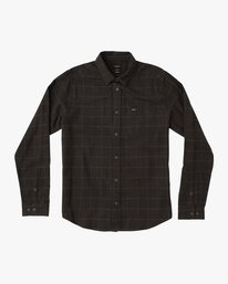 0 Arc Light Weight Grid Flannel Black M556QRAP RVCA