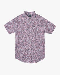 0 Revivalist Floral Button-Up Shirt White M556URRF RVCA