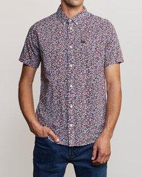 0 Revivalist Floral Button-Up Shirt White M556URRF RVCA