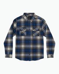 0 High Plains Plaid Flannel Blue M558SRHP RVCA