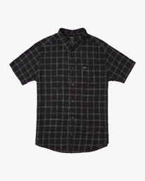 0 Pain Killer Button-Up Shirt Black M560URPK RVCA
