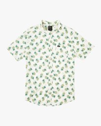 0 ANP Pack Button-Up Shirt White M561URPP RVCA