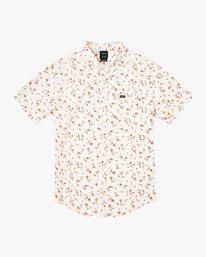 0 Elegie Floral Button-Up Shirt White M565UREF RVCA