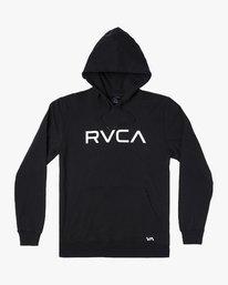 0 BIG RVCA HOODIE Black M6021RBR RVCA