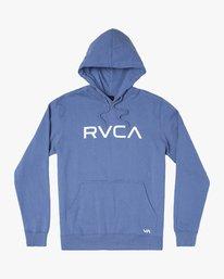 0 BIG RVCA HOODIE Blue M6021RBR RVCA
