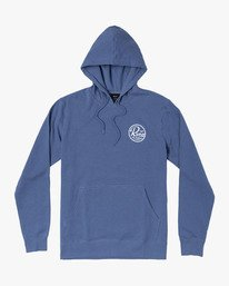 0 PATCH SEAL HOOD Blue M6021RPS RVCA