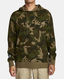 0 BOAR HUNT CAM FLEECE Brown M6022RBO RVCA