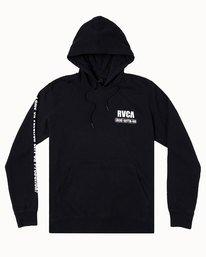 0 RVCA BAIL BONDS HOODIE Black M6023RBB RVCA