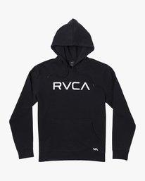 0 BIG RVCA HOODIE Black M6023RBR RVCA