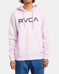 0 BIG RVCA HOODIE Multicolor M6023RBR RVCA