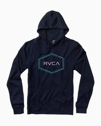 0 Reflection Box Hoodie Blue M602QRRB RVCA